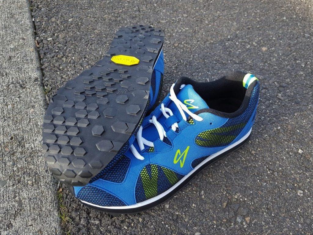 Reshod Blue Race Walk Shoe