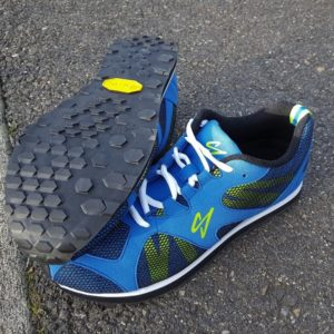 Reshod Blue Race Walk Shoe