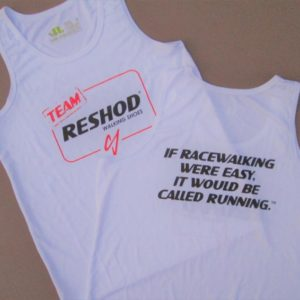 Team Reshod White Tank Top