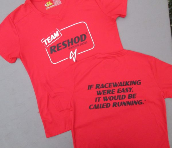 Team Reshod workout shirt
